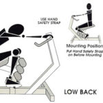 Using the back system for back pain stretch